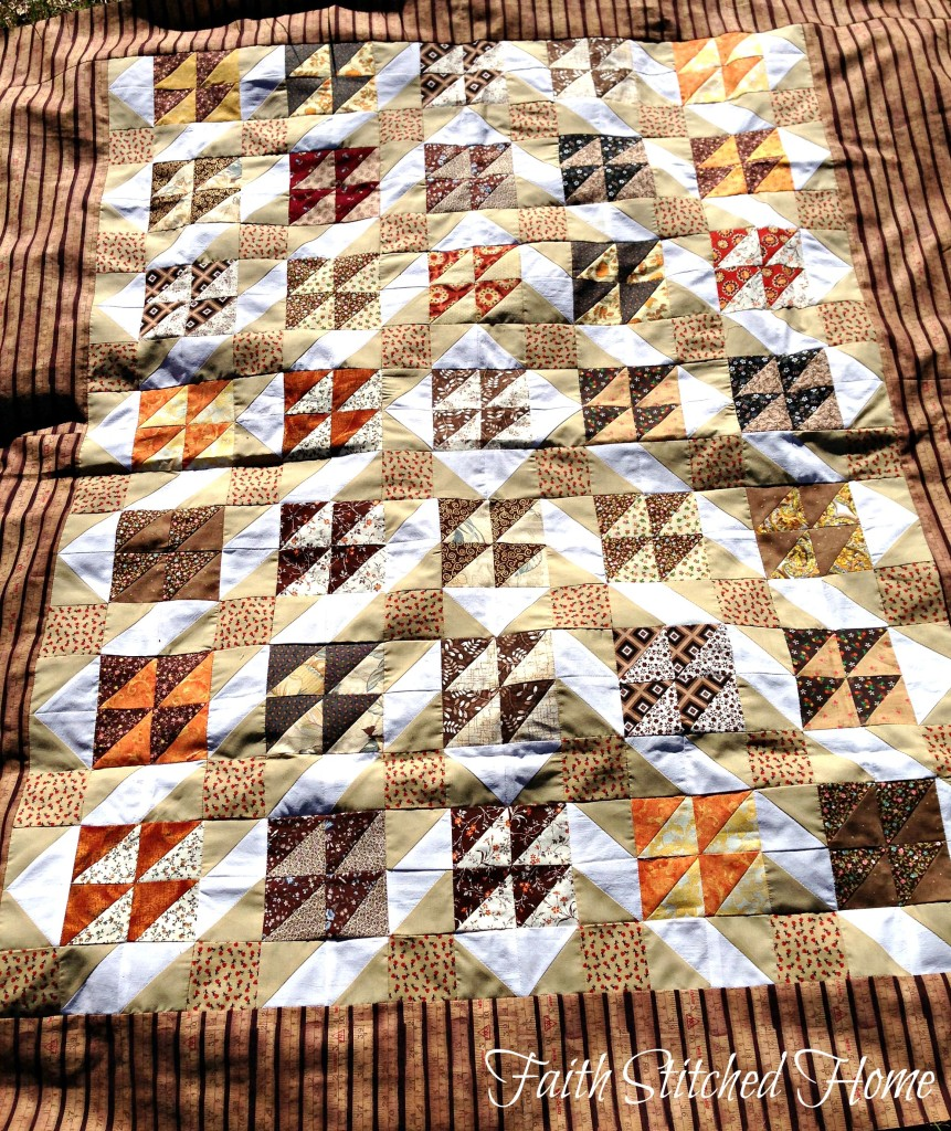 Brown quilt (1)