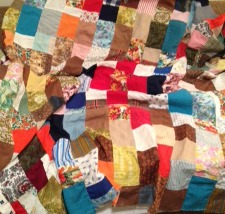 Connie's grandmother's quilt