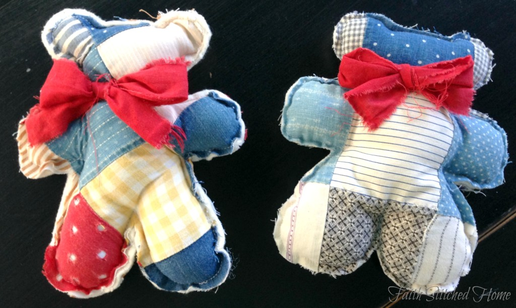 Patchwork bears - softies