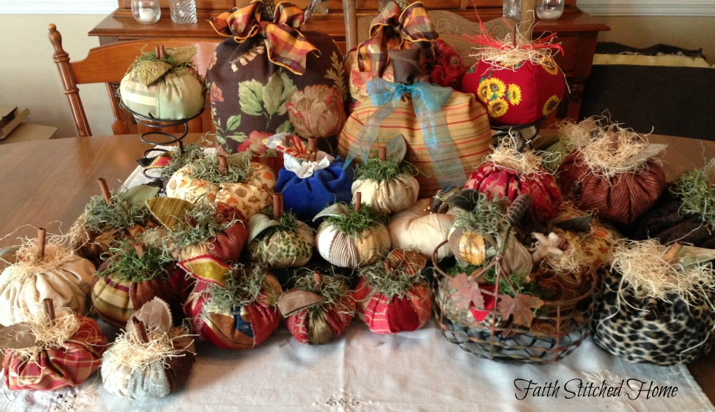 Patchwork pumpkin collection