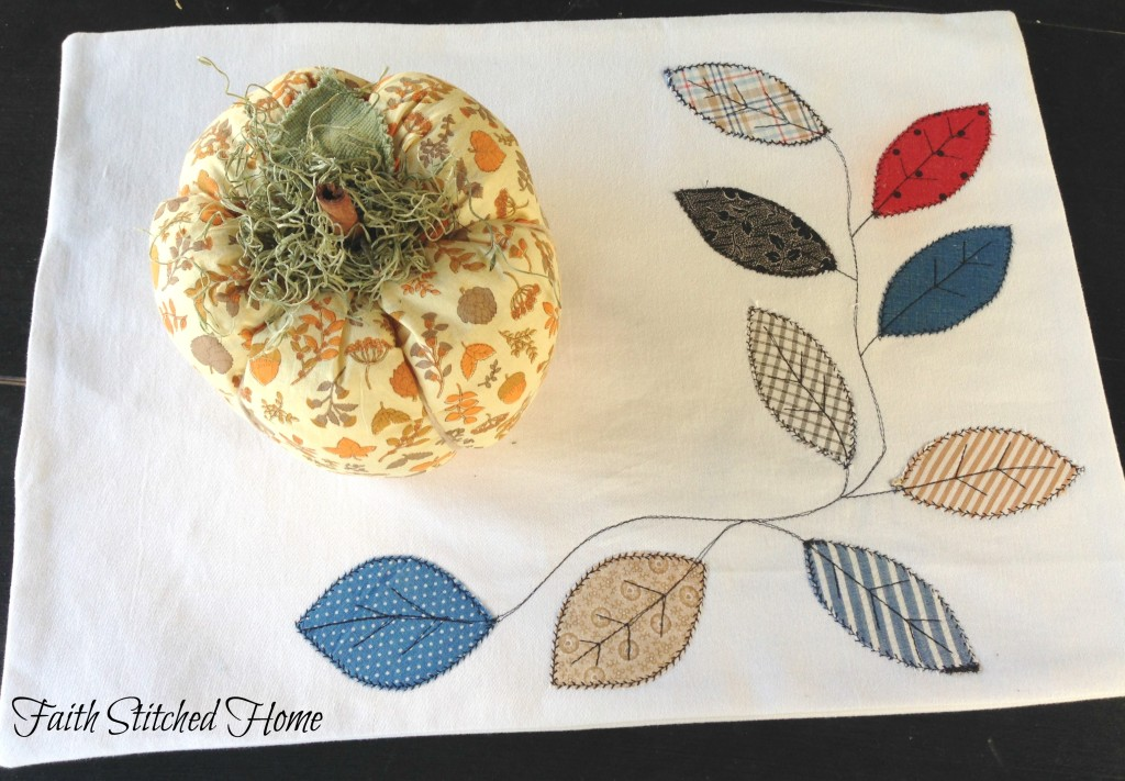 Place mat - Fall leaves 2