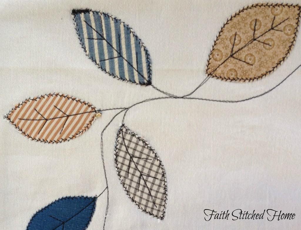 Place mat - fall leaves closeup 2
