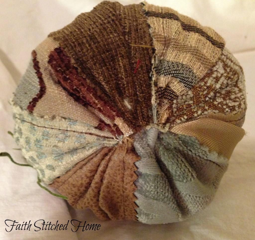 Pumpkin - fabric swatch bottom