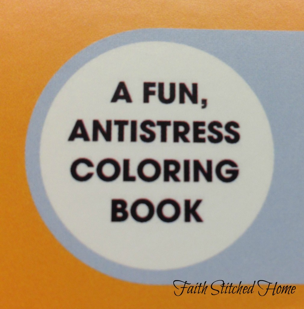 Coloring book fun and anti-stress