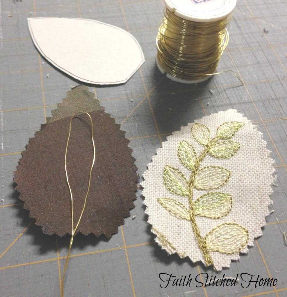 Fabric leaf supplies