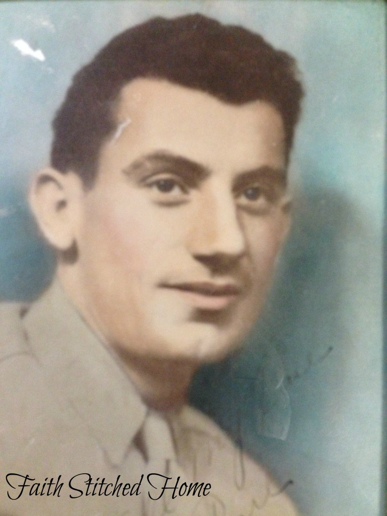 WW2 Army photo of Daddy