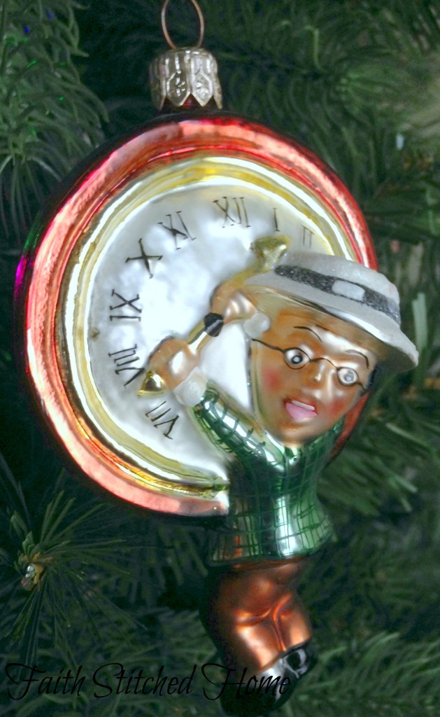 Radko ornament - Harold Lloyd