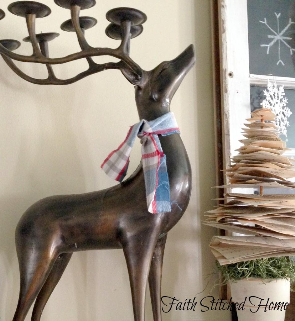 Winter mantle - reindeer