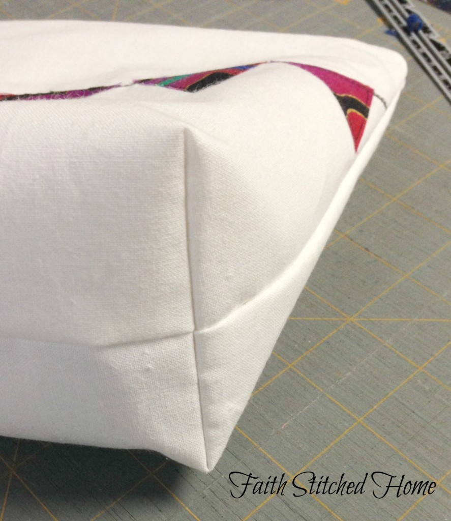 I love when things come together as planned; look at how well those seams match. Happy dance!