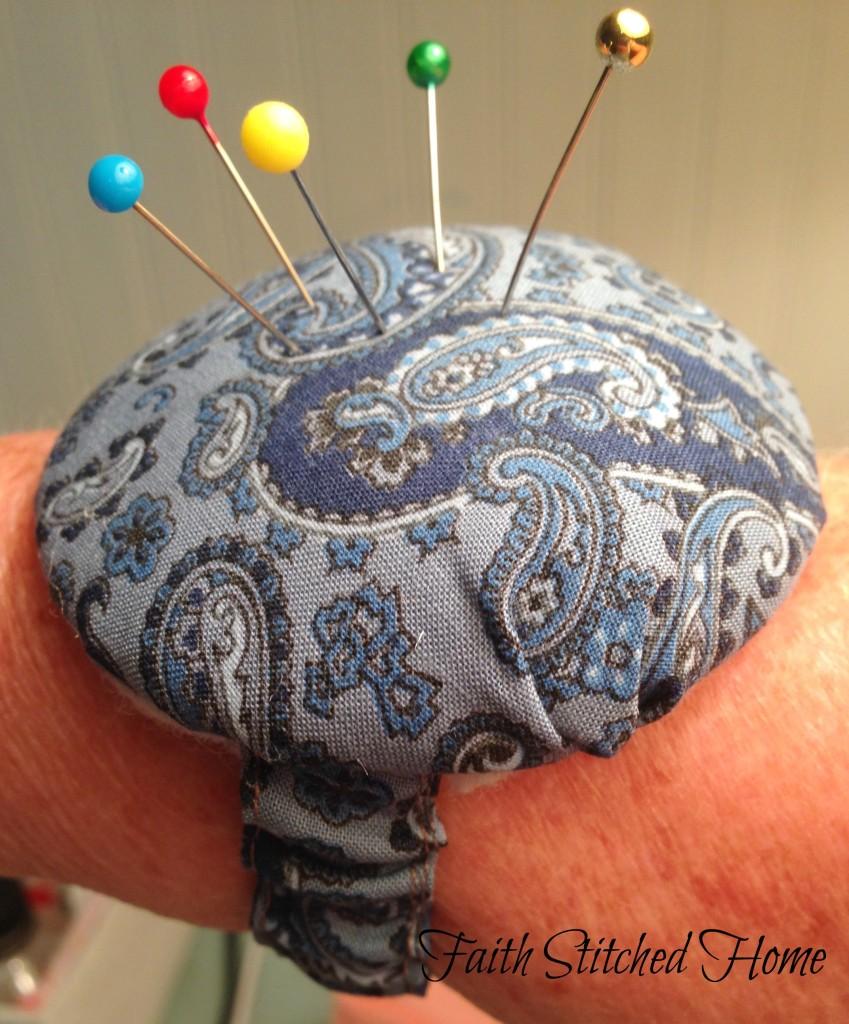 Wrist pincushion 2